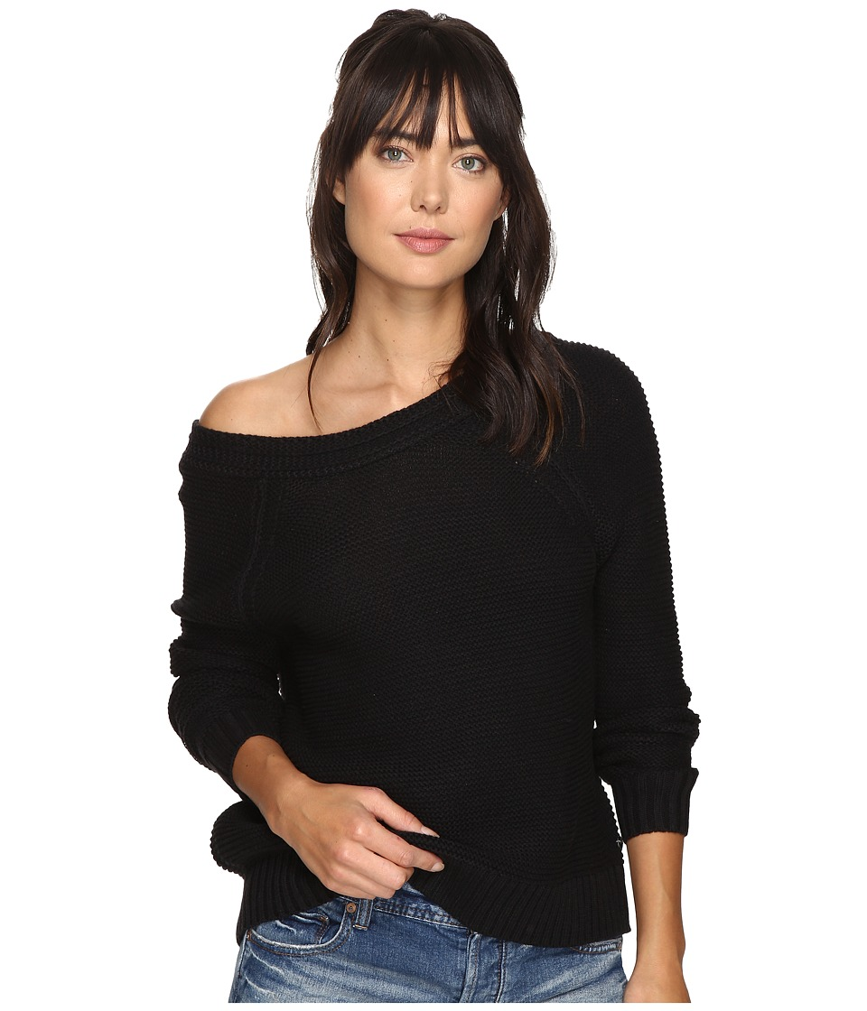 Roxy - Lost Coastlines Sweater (Anthracite) Women's Sweater