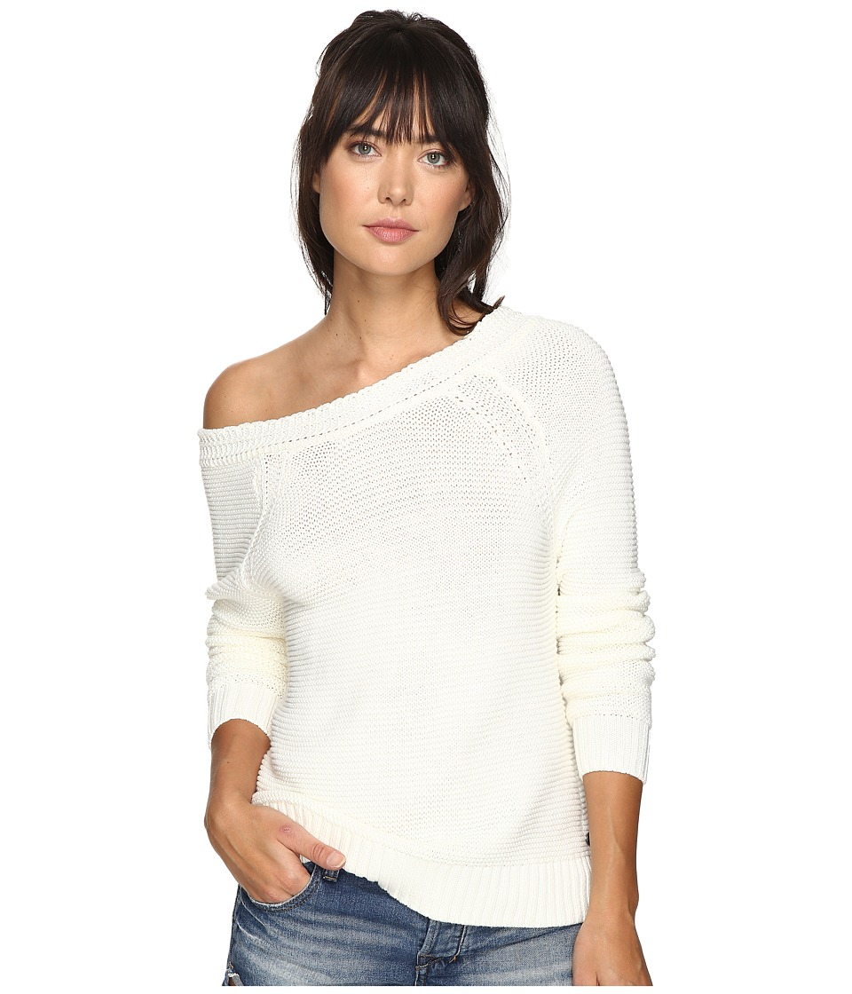 Roxy - Lost Coastlines Sweater (Marshmallow) Women's Sweater