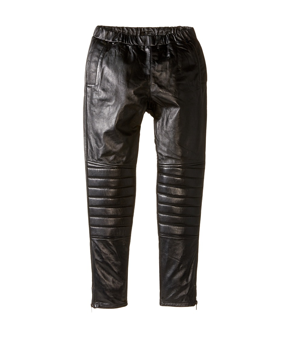 eve jnr - Leather Harem Pants (Little Kids/Big Kids) (Black) Kid's Casual Pants