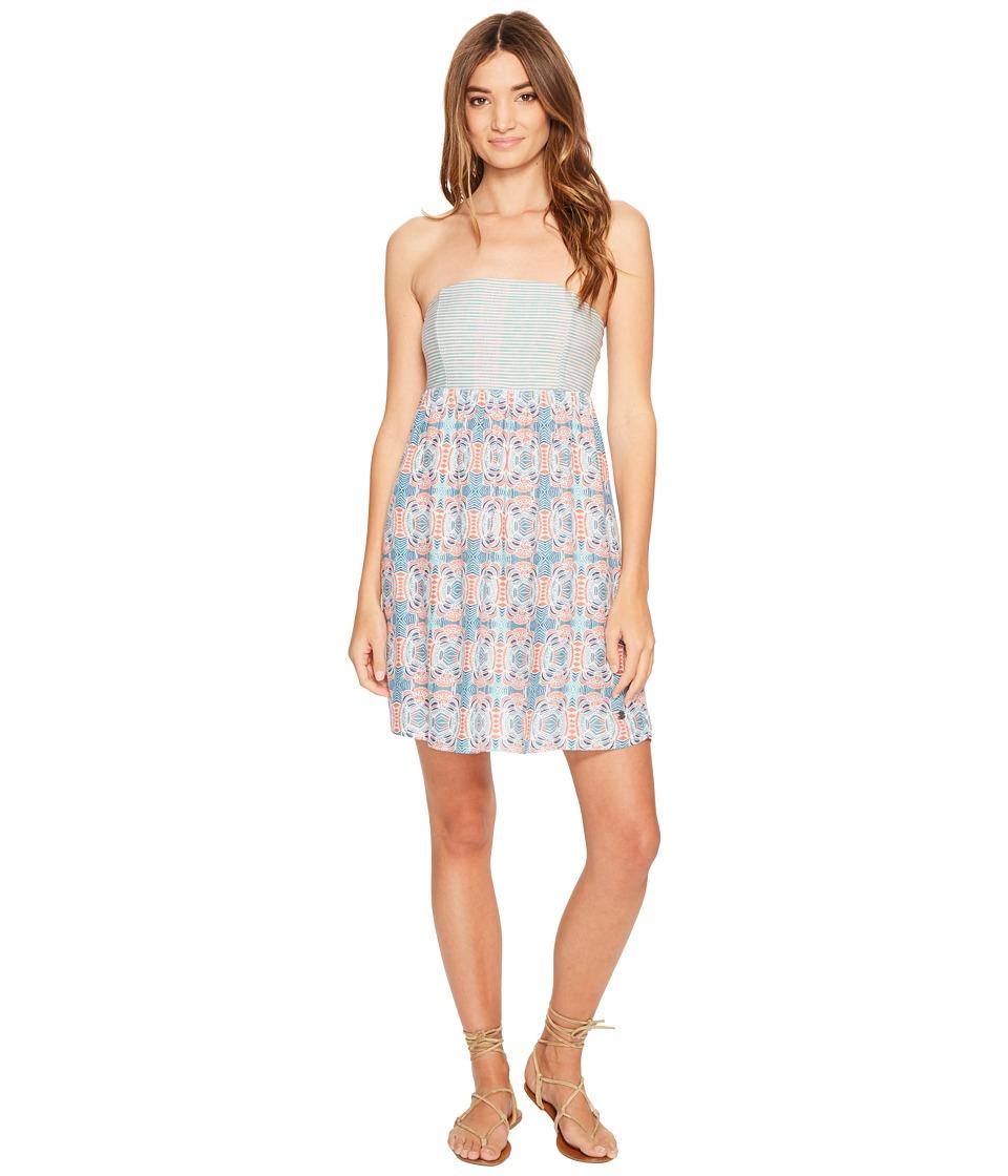 Roxy - Crystal Light Dress (Marshmallow Land of Tehotihuac) Women's Dress
