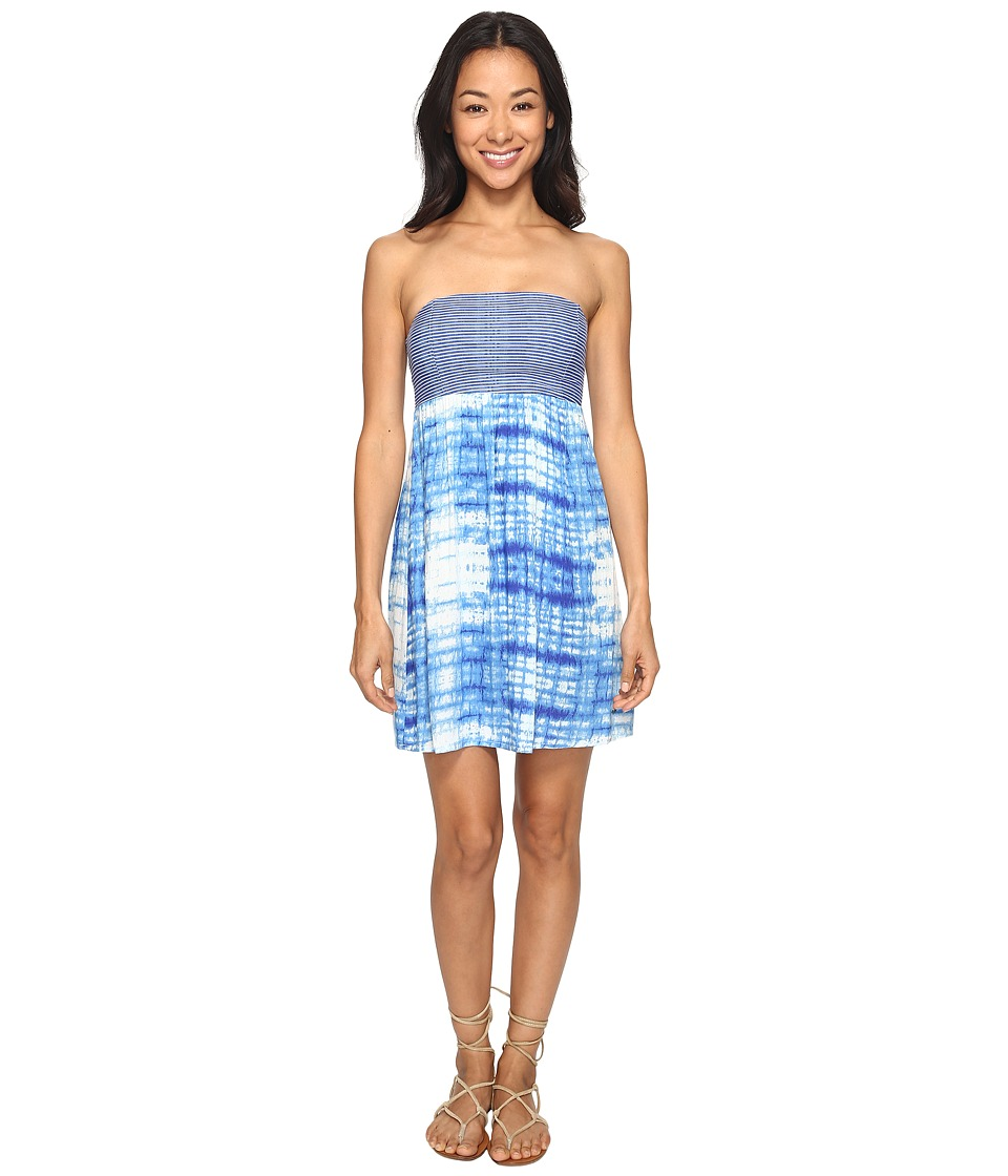 Roxy Crystal Light Dress (Marshmallow Antares Tie and Dye) Women