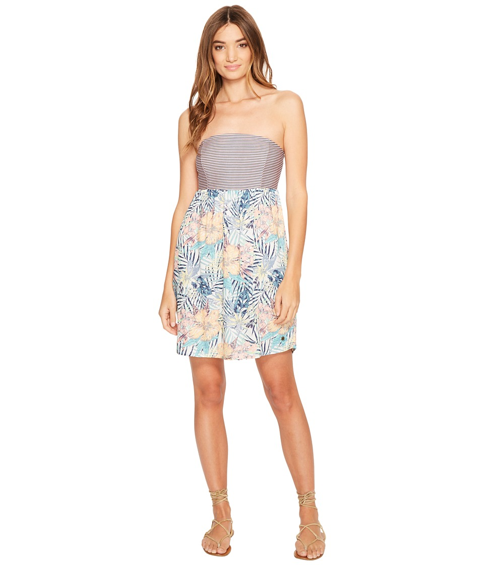 Roxy - Crystal Light Dress (Marshmallow Beyond Love) Women's Dress