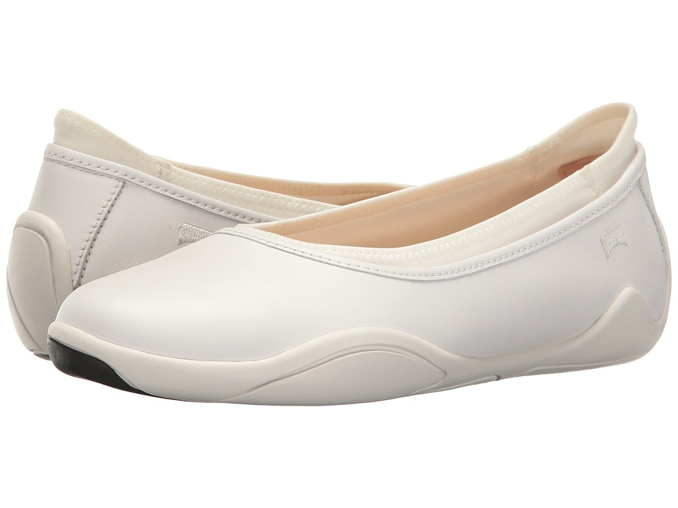 Camper - Noshu - K200451 (White) Women's Slip on Shoes