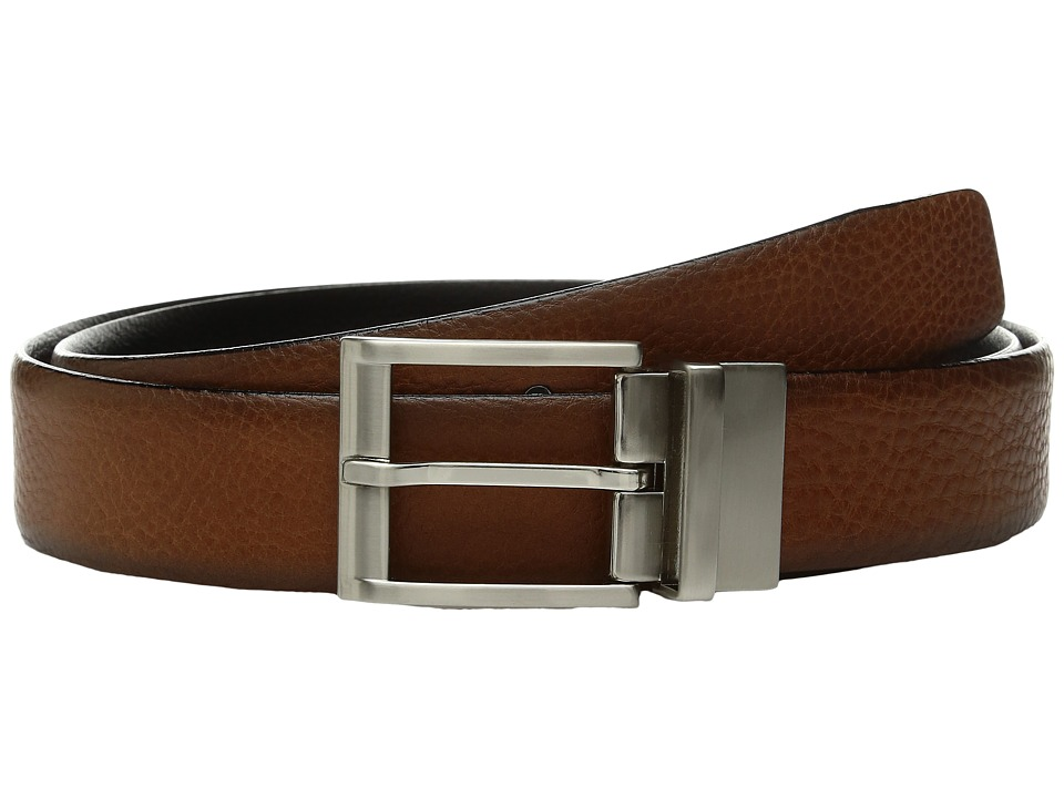 Trafalgar - Bradley (Tan/Black) Men's Belts