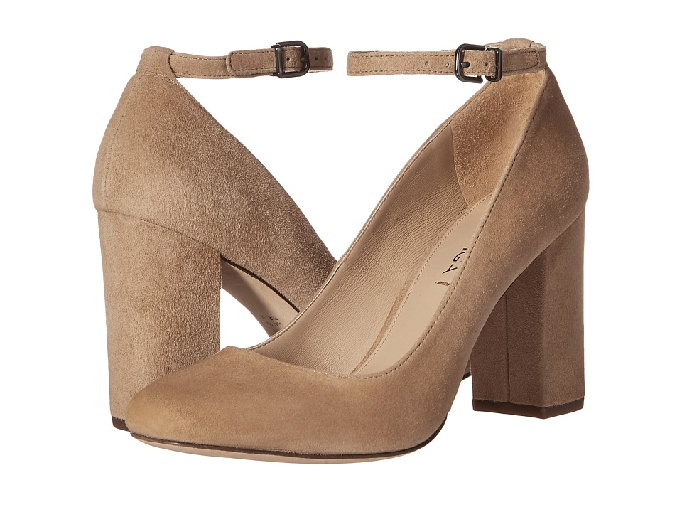 Via Spiga Selita (Light Camel Suede) High Heels