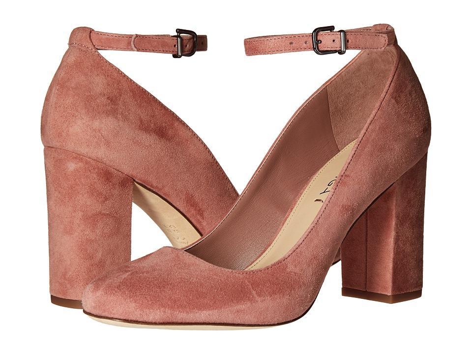 Via Spiga Selita (Dusty Rose Suede) High Heels