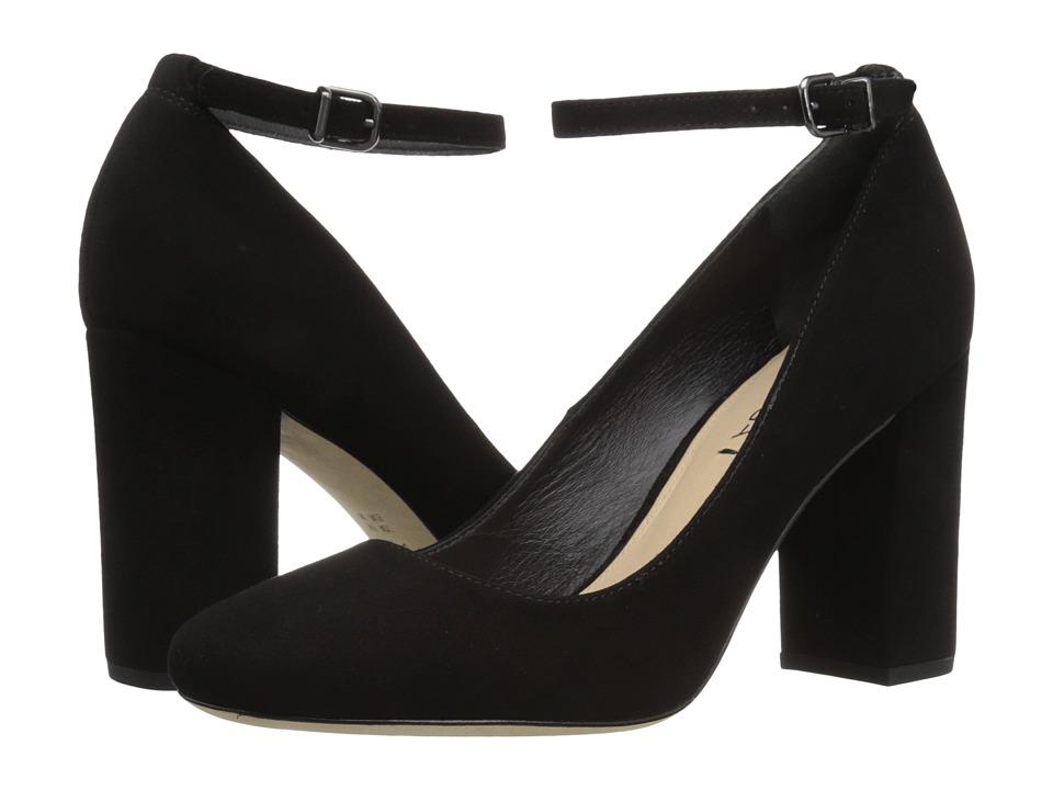 Via Spiga - Selita (Black Suede) High Heels