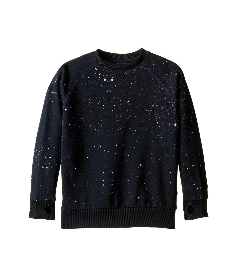Munster Kids - Night Sky Sweatshirt (Toddler/Little Kids/Big Kids) (Night Sky) Boy's Sweatshirt