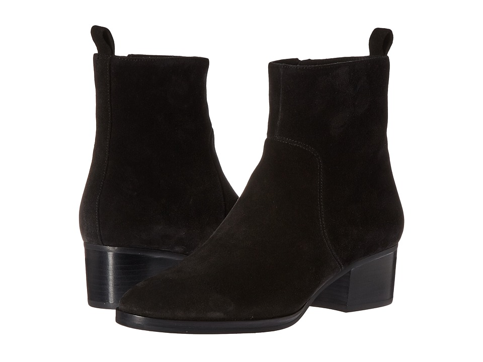 Via Spiga Ottavia (Black Suede) Women
