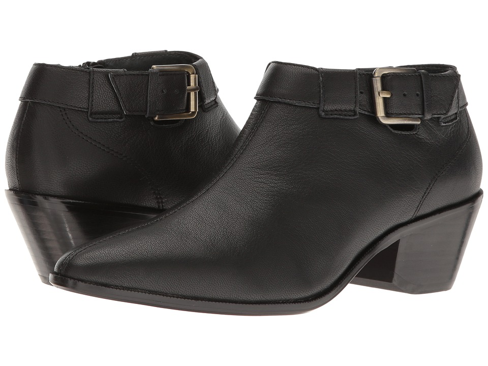 Nina - Wheeler (Black Leather) Women's Boots