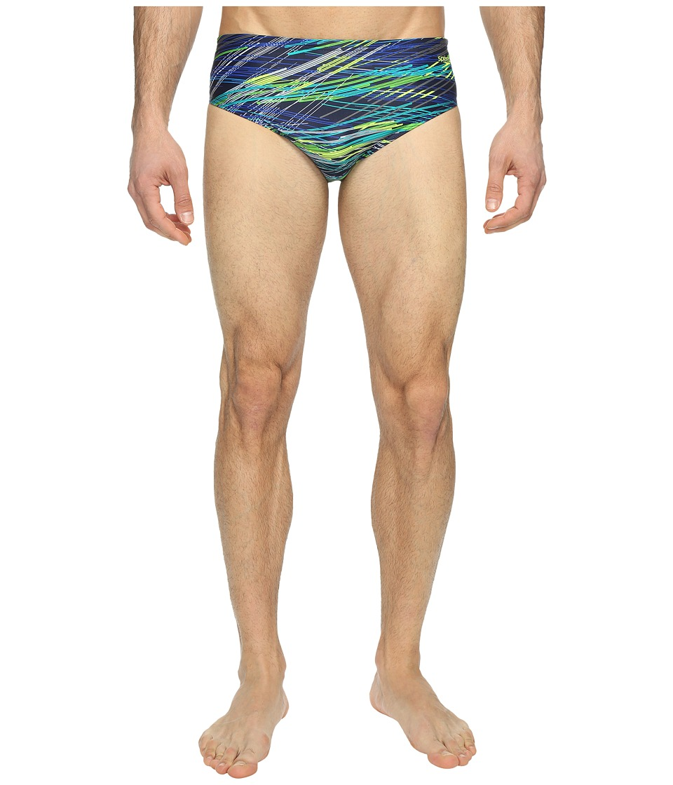 Speedo - Fragments Brief (Blue) Men's Swimwear