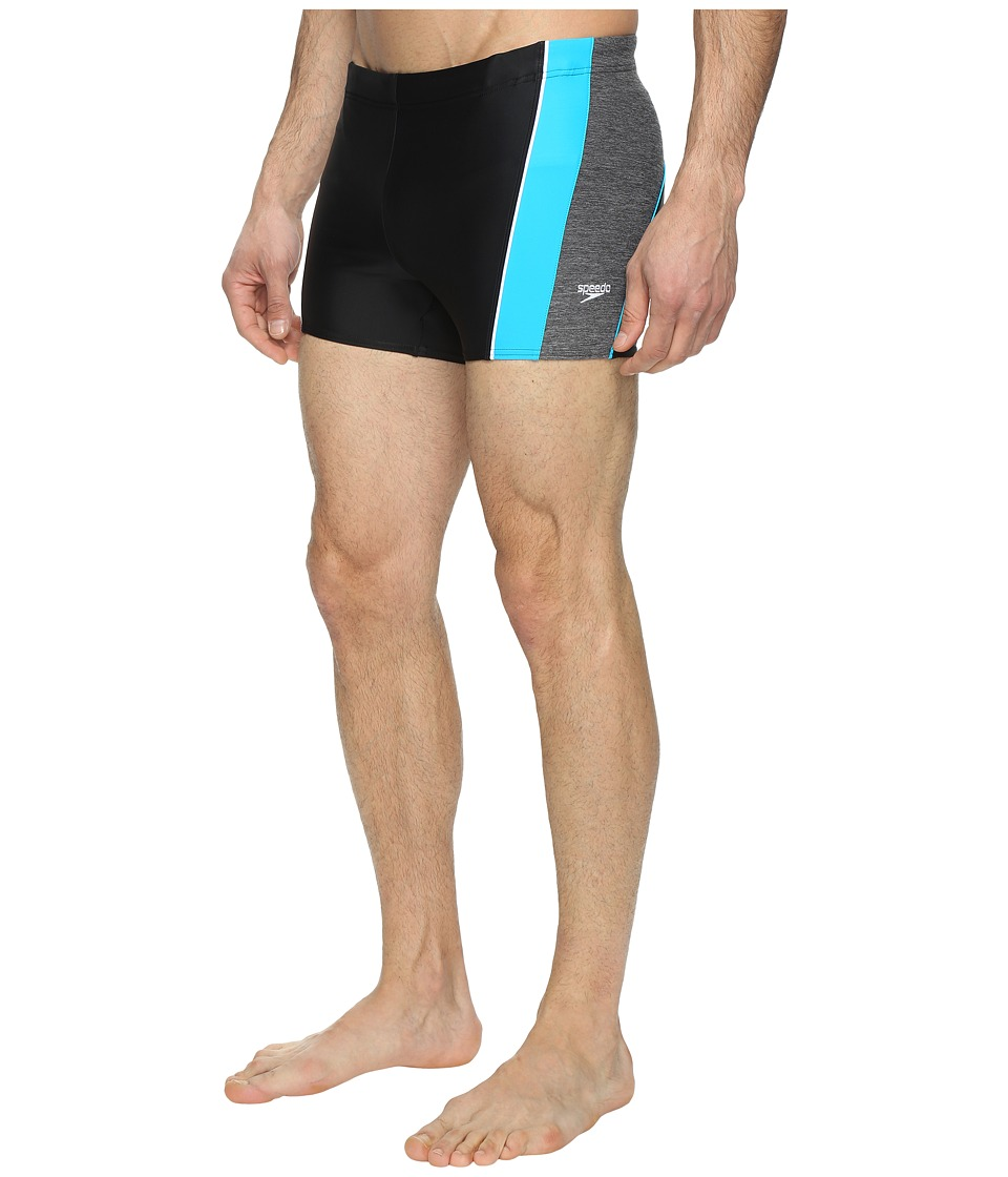 Speedo - Ignite Splice Square Leg (Speedo Black) Men's Swimwear