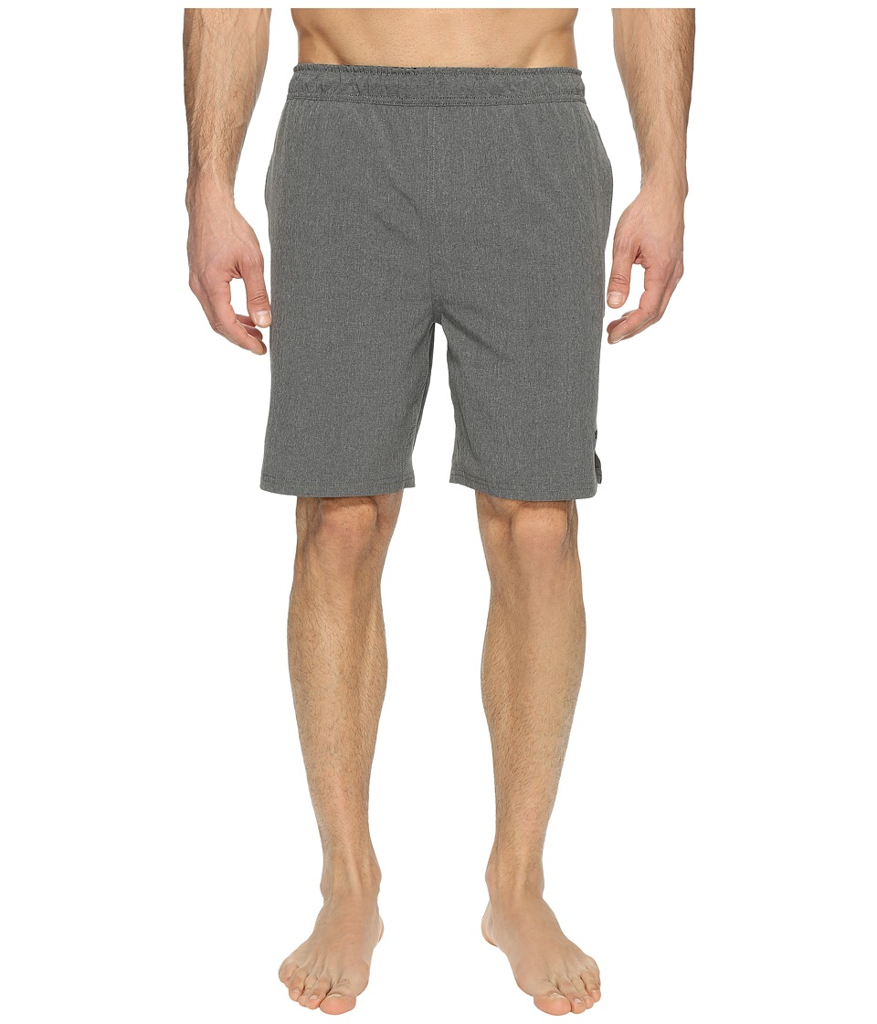 Speedo - Heather Tech Volley w/ Hydroliner (Heather Grey) Men's Swimwear