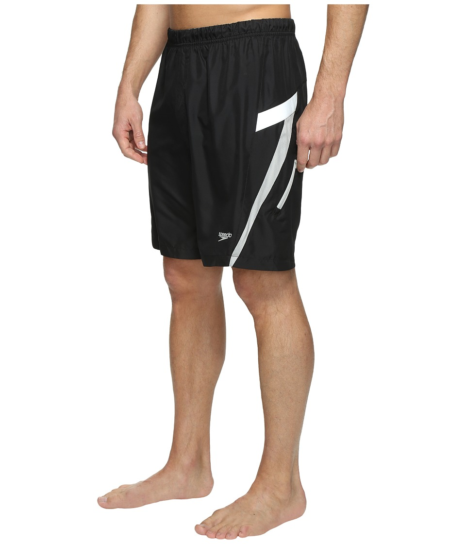 Speedo Hydrovolley w/ Compression Jammer (Speedo Black) Men