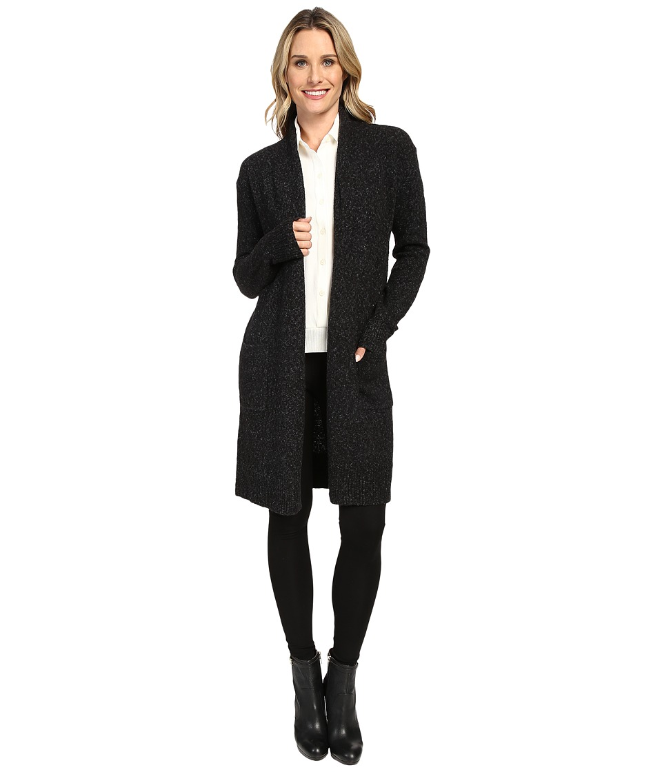 MICHAEL Michael Kors - Long Easy Cardigan (Black) Women's Sweater