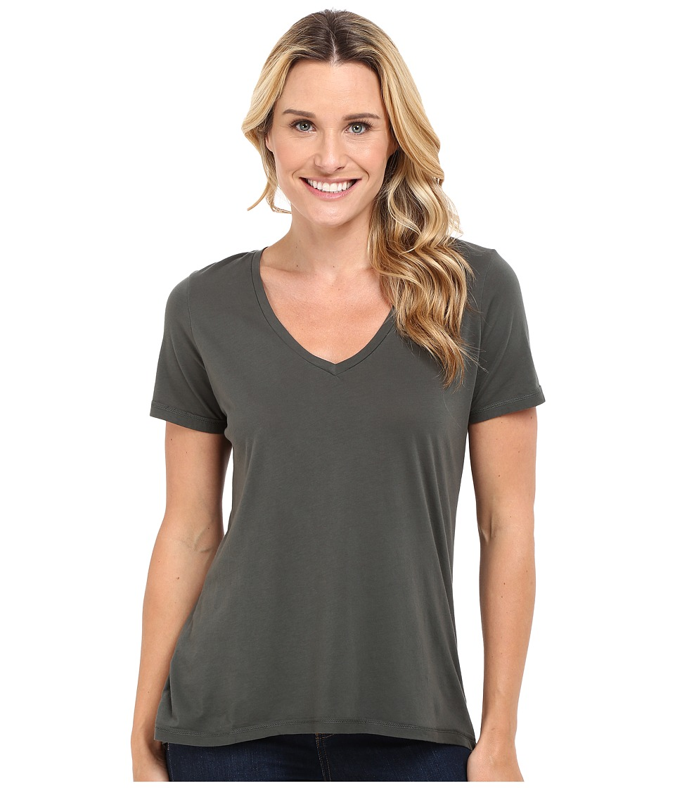 The Beginning Of - Olivia V-Neck High-Low Tee (Solstice) Women's Short Sleeve Pullover