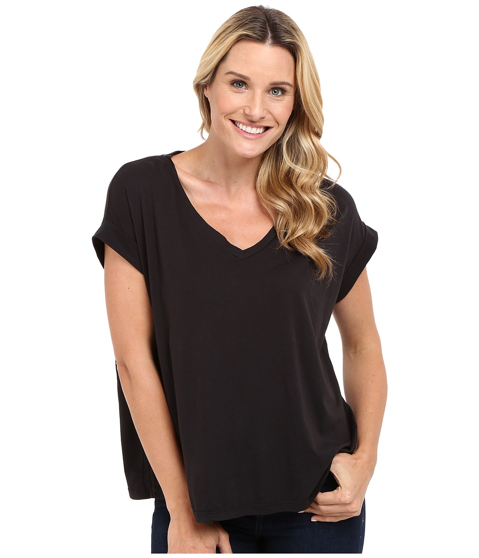 The Beginning Of - Hoshan Loose Fit Tee (Black) Women's T Shirt