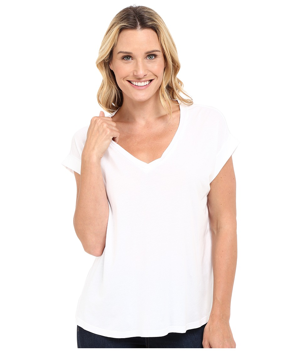 The Beginning Of - Hoshan Loose Fit Tee (White) Women's T Shirt