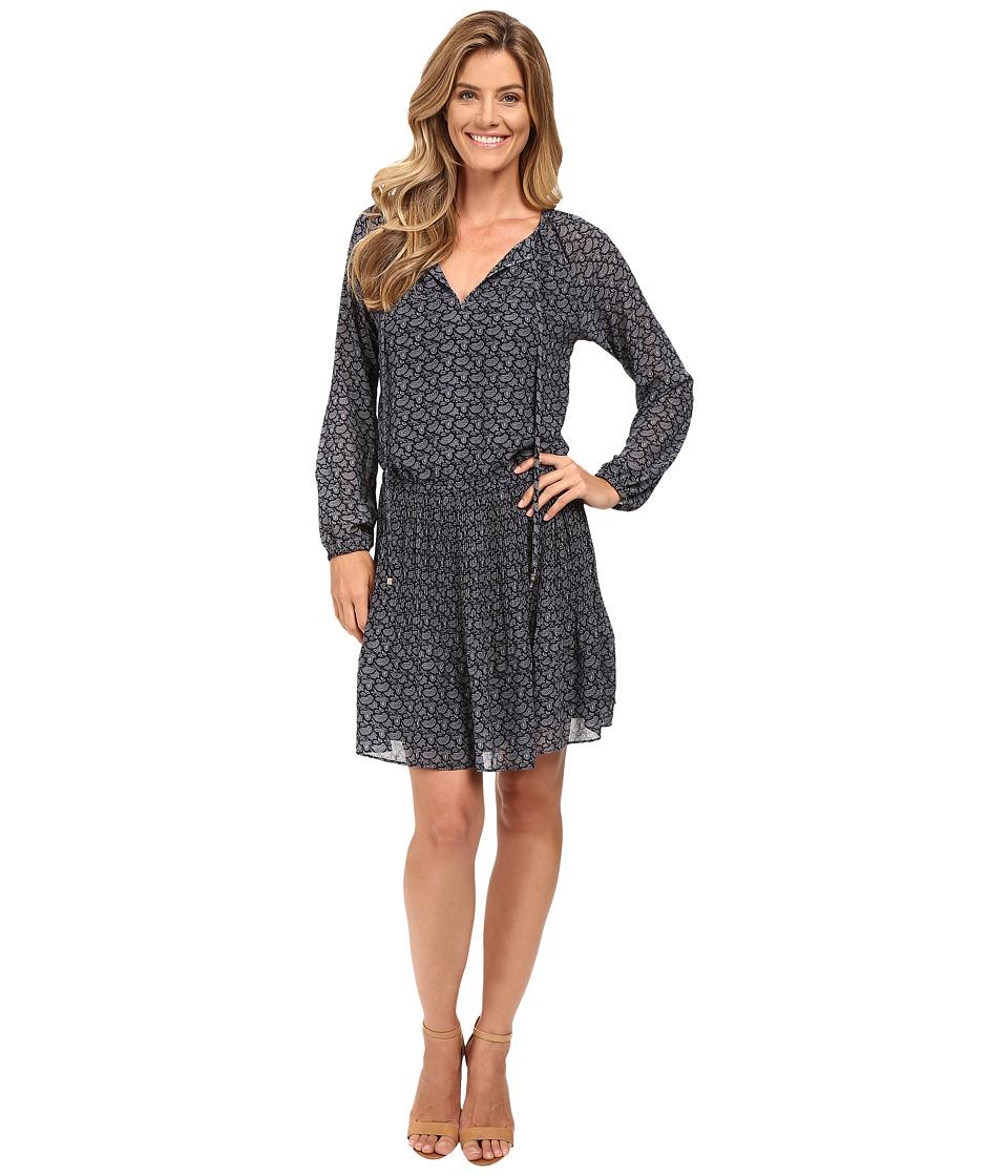 MICHAEL Michael Kors - Mini Woodbrook Dress (New Navy) Women's Dress