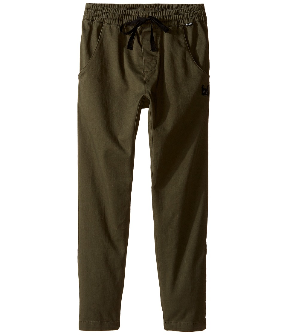 Munster Kids - Tubes Pants (Toddler/Little Kids/Big Kids) (Olive) Boy's Clothing