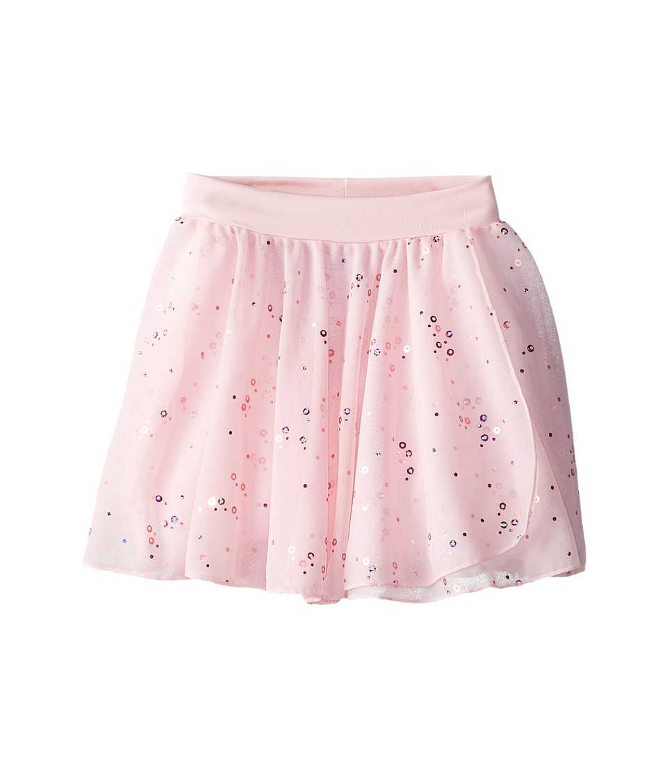Capezio Kids - Pull-On Sequined Skirt (Toddler/Little Kids/Big Kids) (Pink) Girl's Skirt
