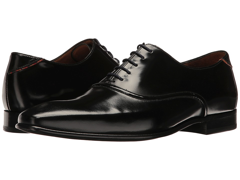 Paul Smith - PS Starling Plain Toe Oxford (Black) Men's Plain Toe Shoes