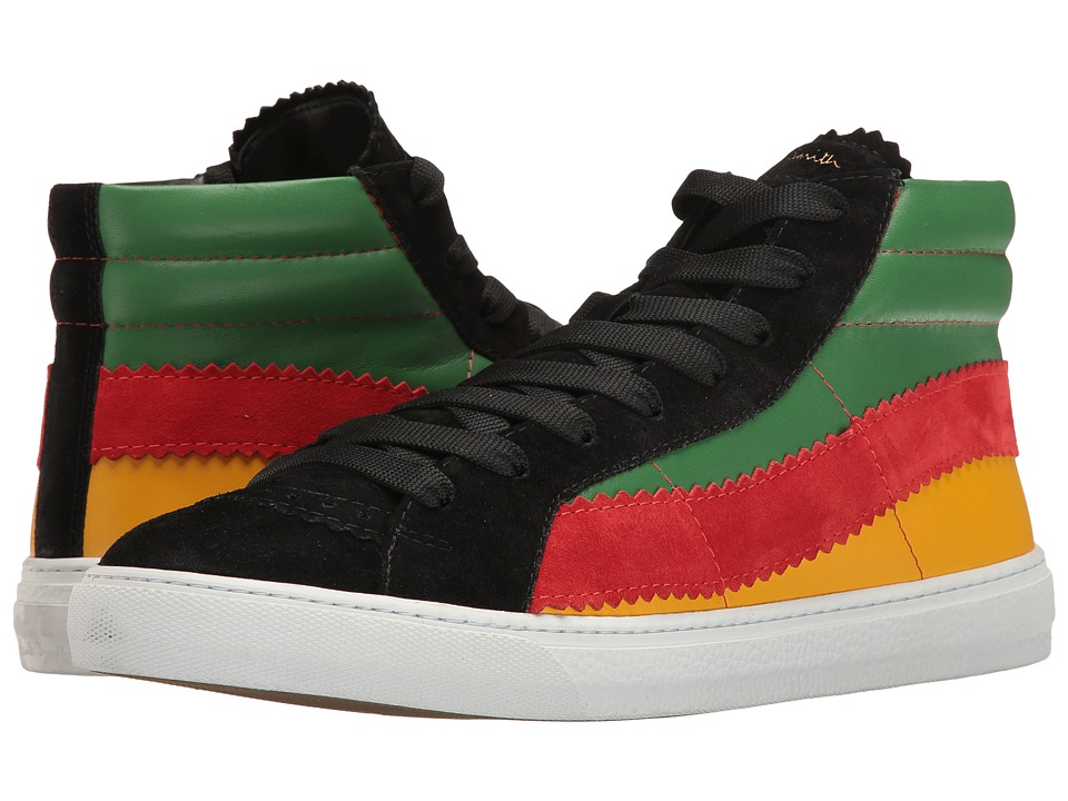 Paul Smith - Lynn Reggae High Top (Black) Men's Lace up casual Shoes