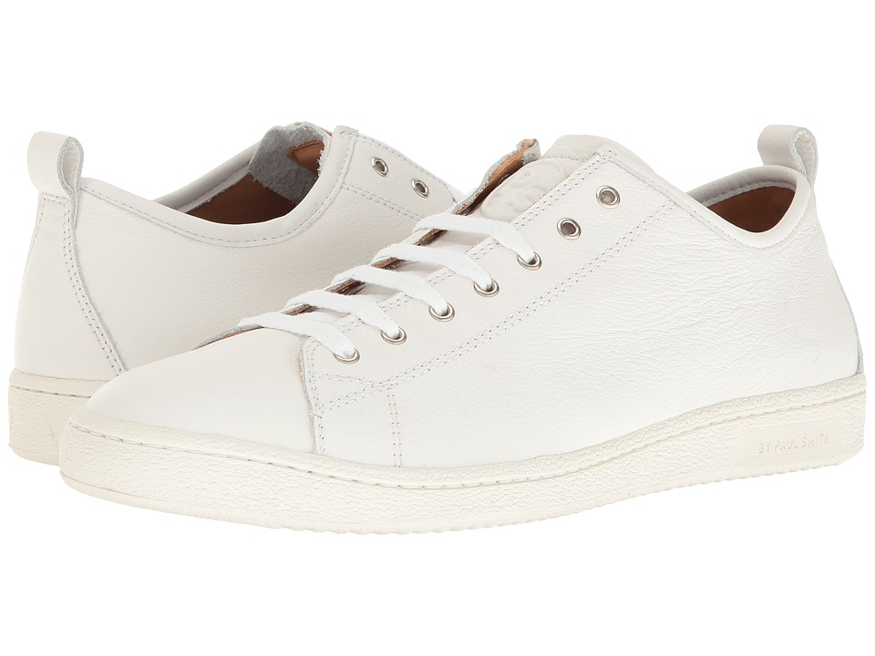 Paul Smith - PS Miyata Sneaker (White) Men's Lace up casual Shoes