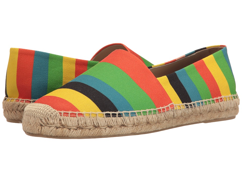 Paul Smith - Sunny Color Stripe Espadrille (Multi) Men's Slip on Shoes