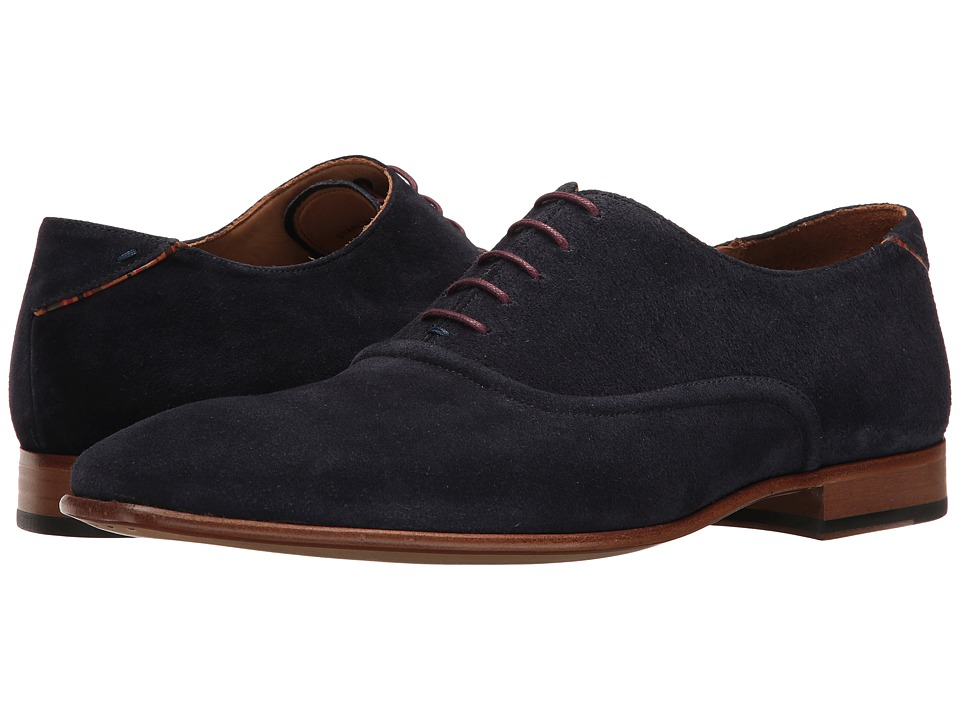 Paul Smith - PS Starling Plain Toe Oxford (Oceano) Men's Plain Toe Shoes