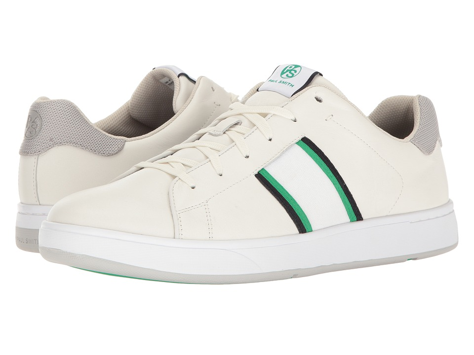 Paul Smith - PS Lawn Sneaker (White) Men's Lace up casual Shoes