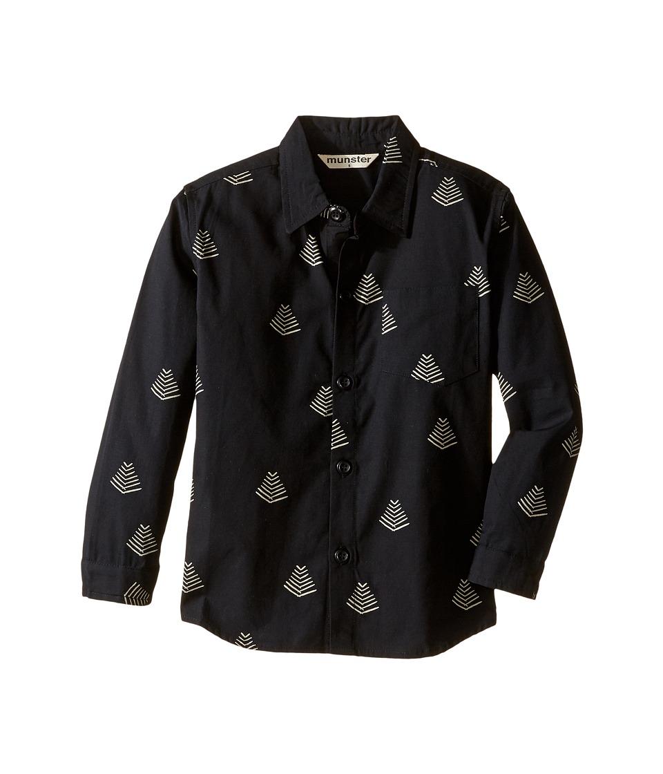 Munster Kids - Sunrise Shirt (Toddler/Little Kids/Big Kids) (Soft Black) Boy's Sweatshirt