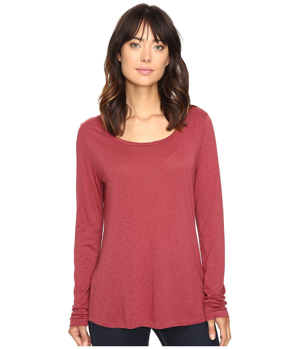 The Beginning Of - Vionnet Basic Tee (Burgundy) Women's T Shirt