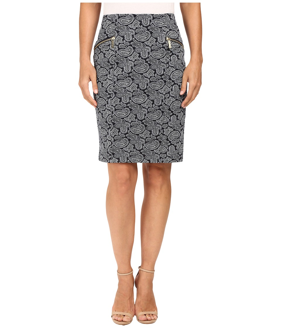 MICHAEL Michael Kors - Woodbrook Pencil Skirt (New Navy) Women's Skirt