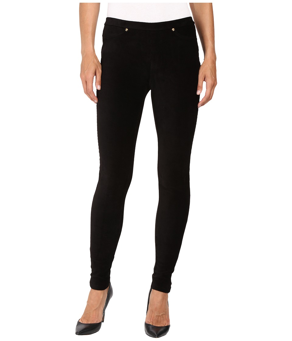 MICHAEL Michael Kors - Stretch Corduroy Leggings (Black) Women's Casual Pants