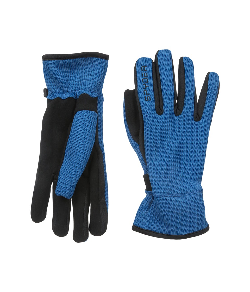 Spyder - Core Sweater Conduct Glove (Concept Blue/Black) Ski Gloves