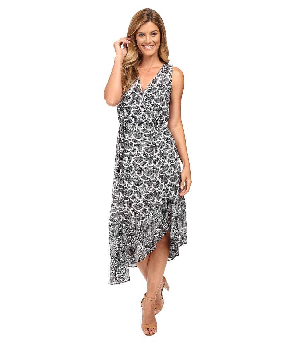MICHAEL Michael Kors - Woodbrook Wrap Dress (Cream) Women's Dress