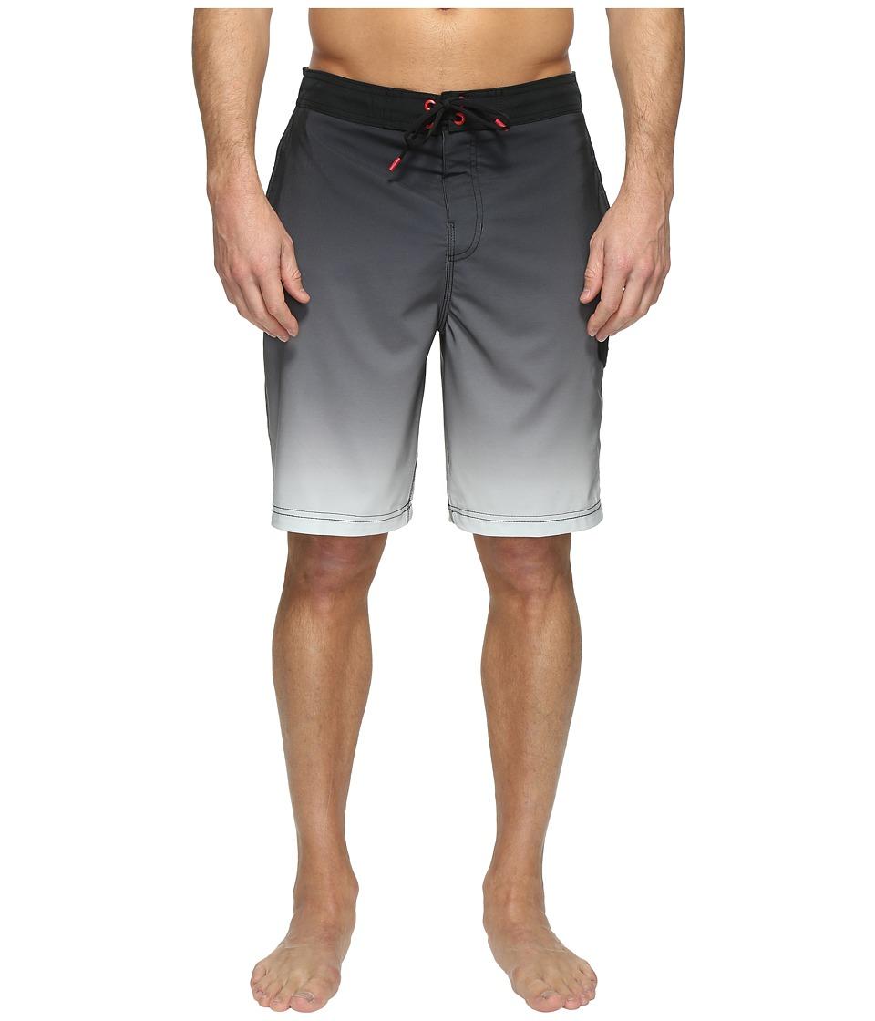 Speedo - Engineered Ombre E-Board (Speedo Black) Men's Swimwear