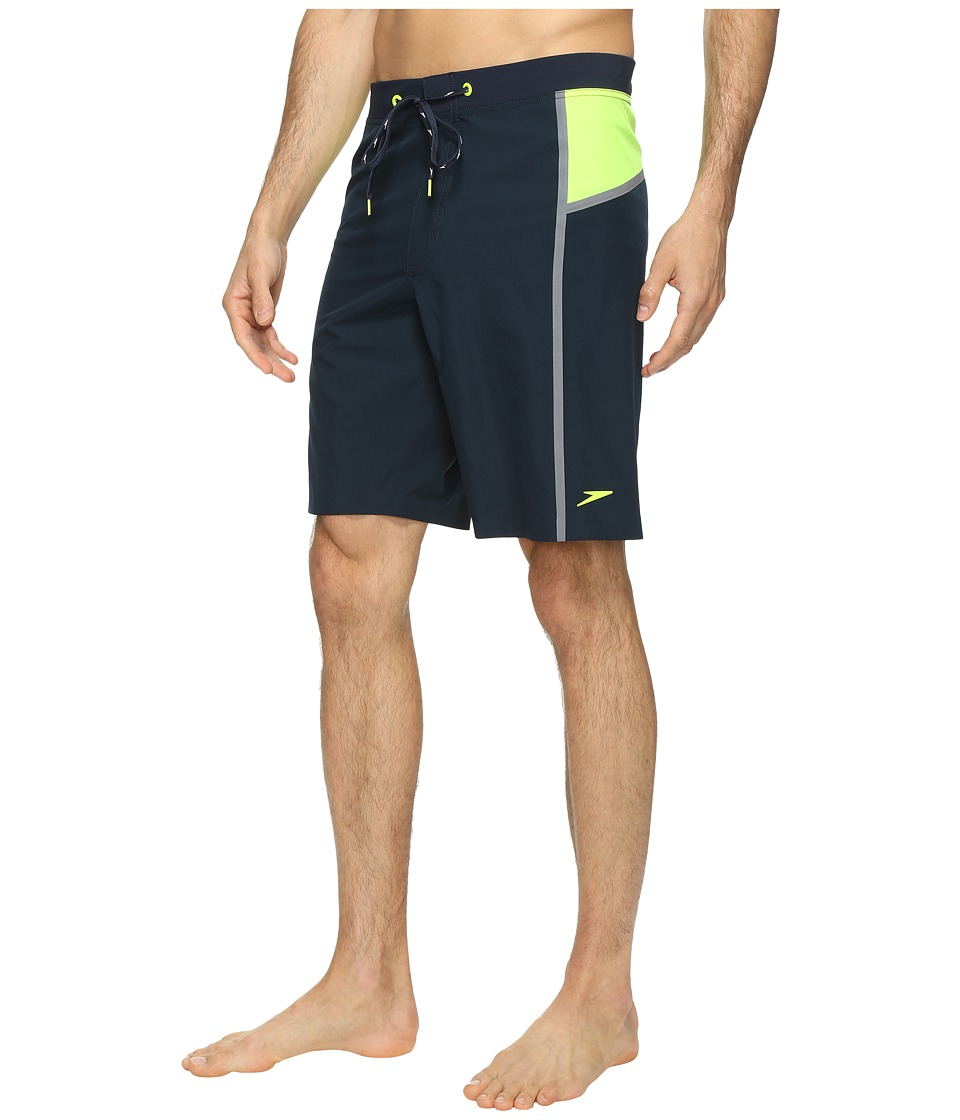 Speedo - Stretchtech Bonded Boardshorts (New Navy) Men's Swimwear