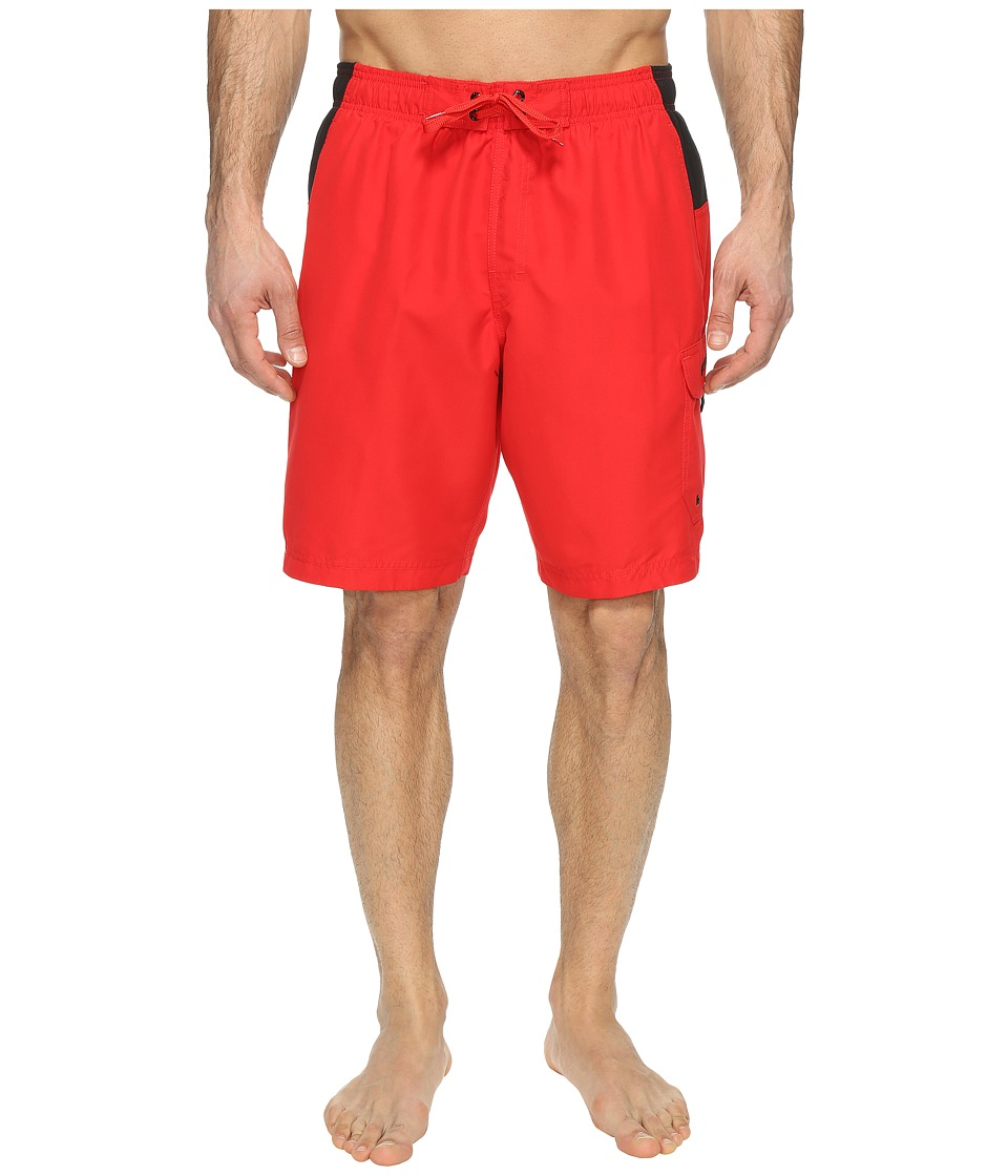 Speedo - Sport Volley (Atomic Red) Men's Swimwear