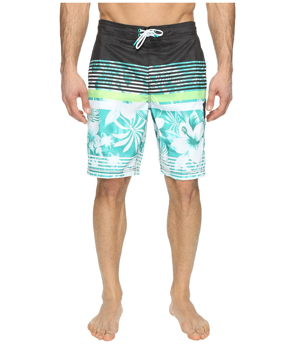 Speedo - Underline Floral E-Board (Columbia) Men's Swimwear