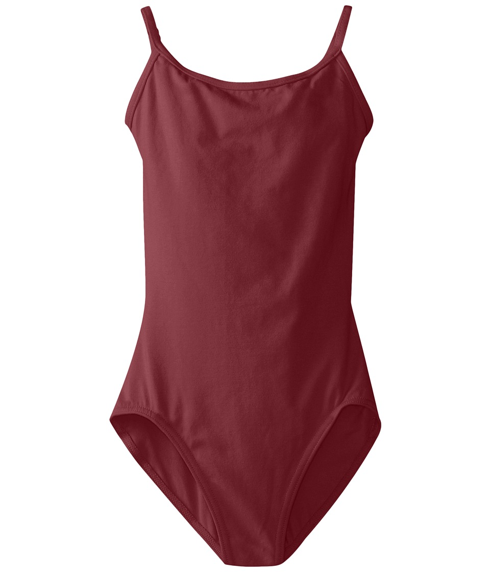 Capezio Kids - Classic Camisole Leotard with Adjustable Straps (Little Kids/Big Kids) (Burgundy) Girl's Jumpsuit & Rompers One Piece