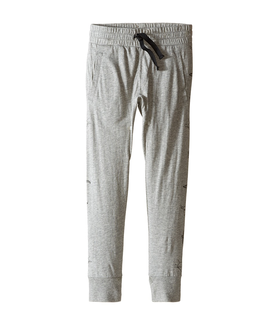 Munster Kids - Phantom Track Pants (Toddler/Little Kids/Big Kids) (Grey Marle) Boy's Casual Pants