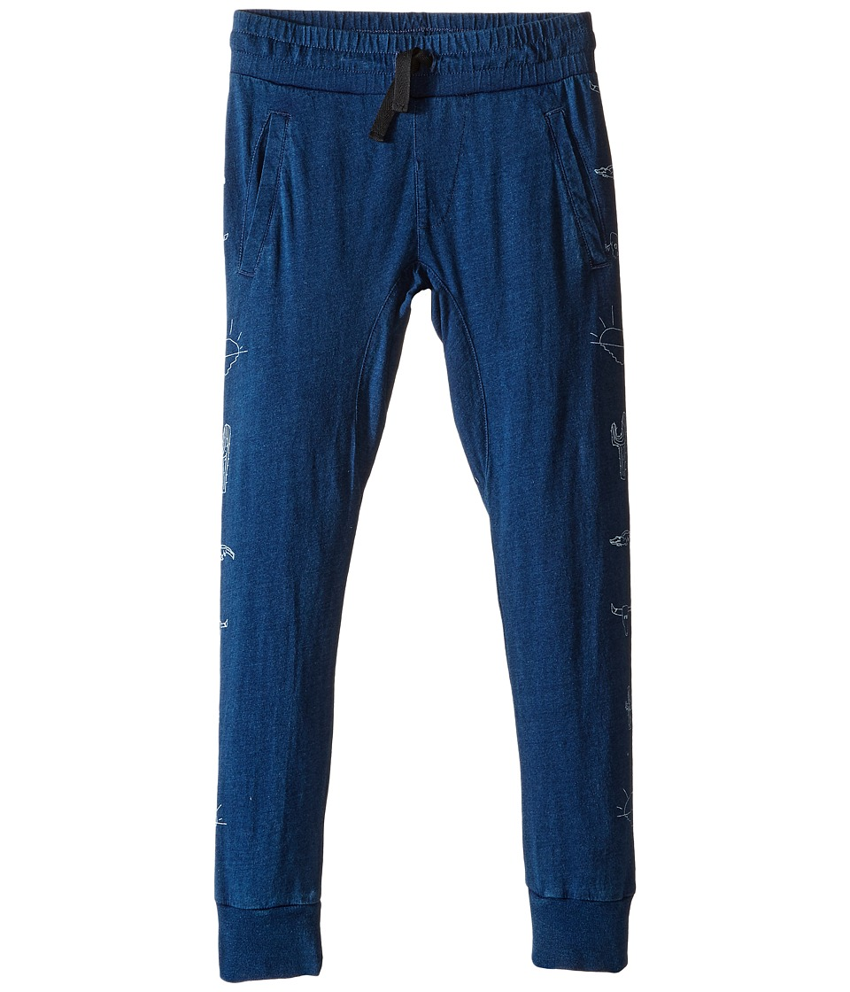 Munster Kids - Phantom Track Pants (Toddler/Little Kids/Big Kids) (Indigo) Boy's Casual Pants