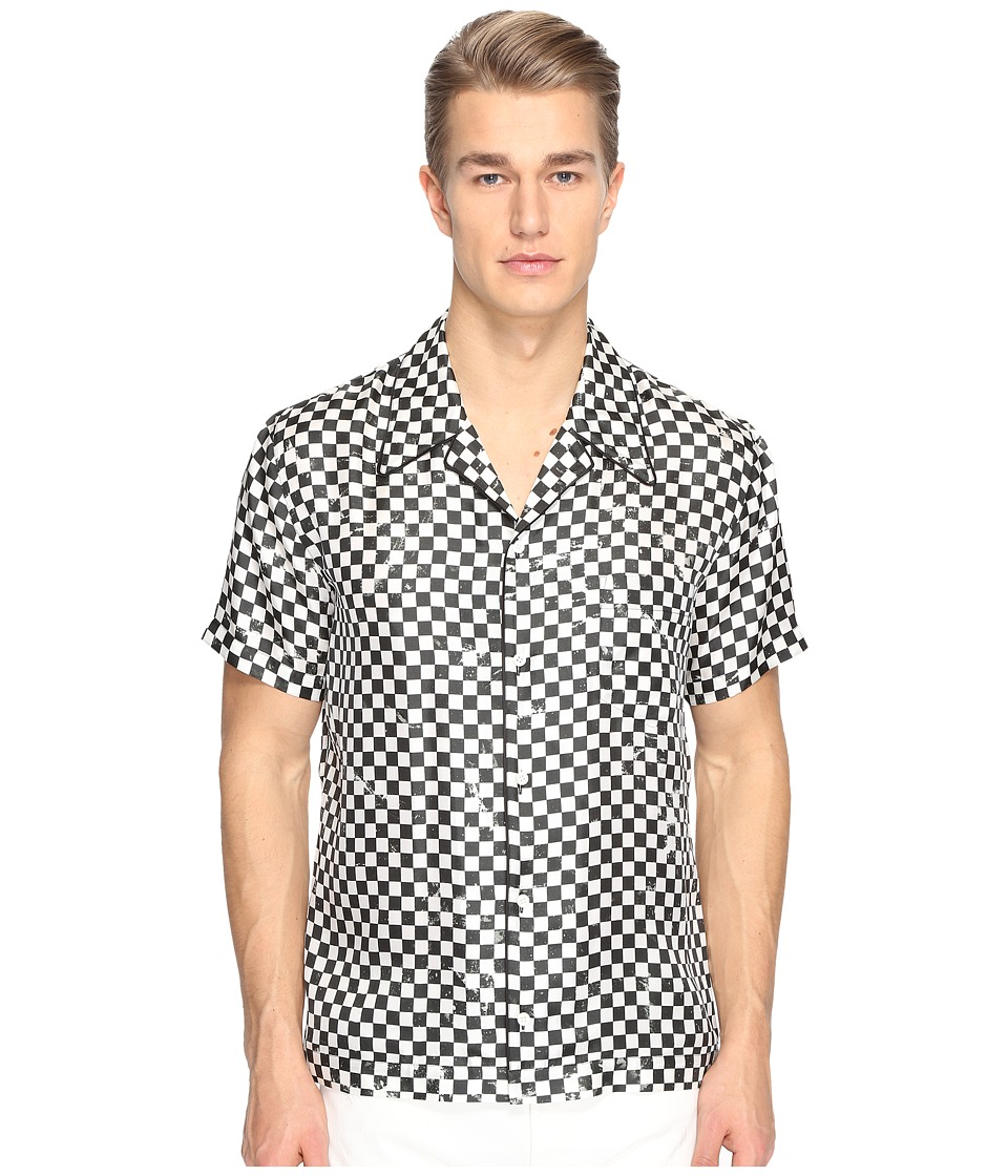 Marc Jacobs - Distressed Check Shirt (Check) Men's Clothing