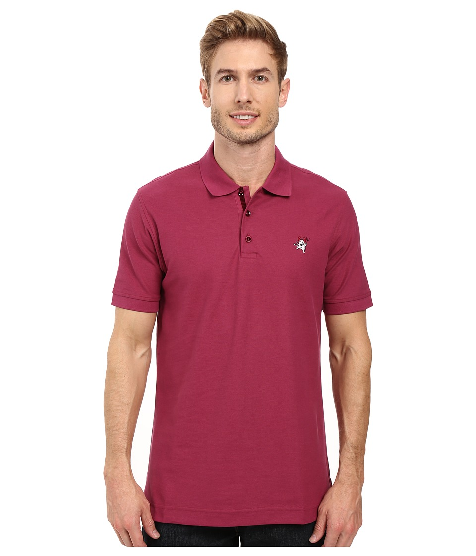 Robert Graham - Back Off Polo (Berry) Men's Clothing