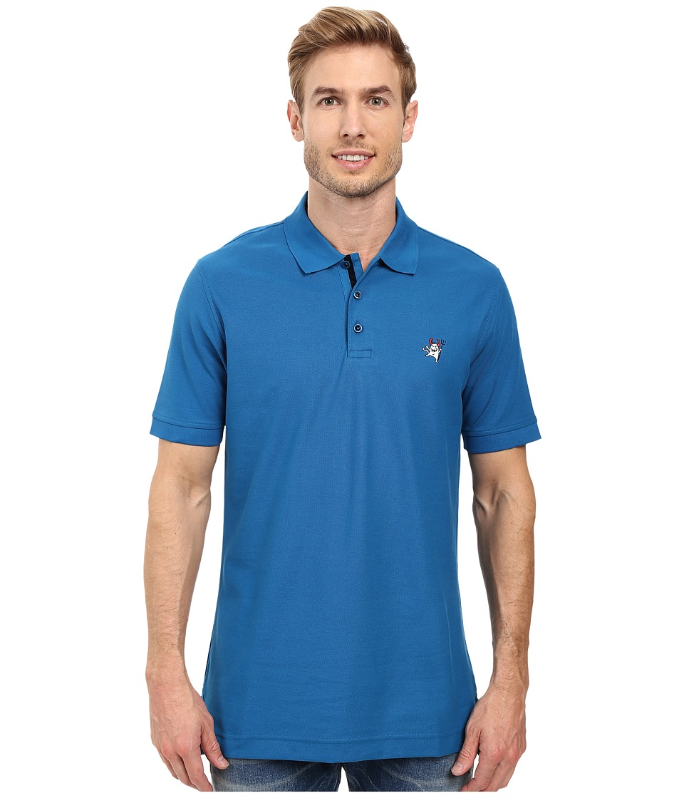 Robert Graham - Back Off Polo (Marine) Men's Clothing
