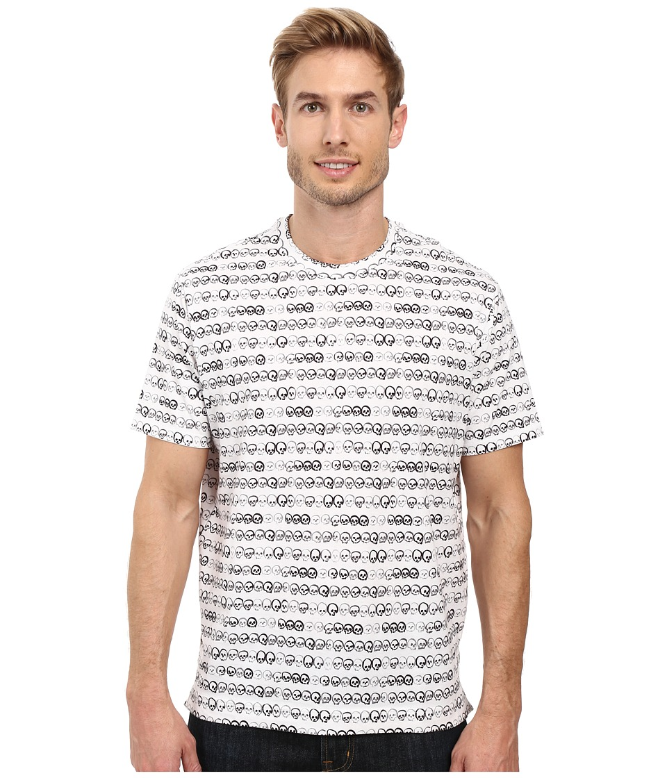 Robert Graham - Bridge of Sighs Short Sleeve T-Shirt (White) Men's T Shirt