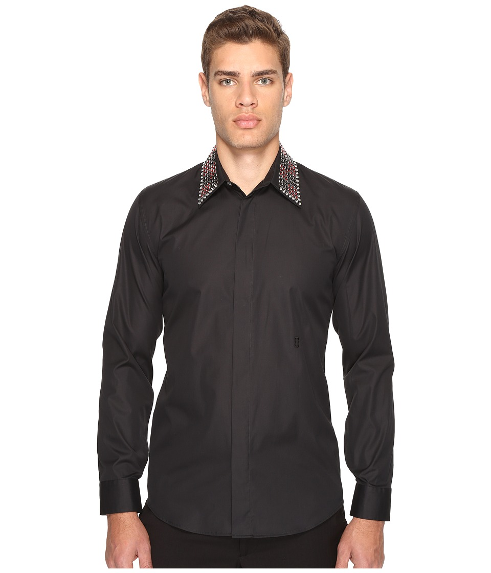 Marc Jacobs - Slim Fit Shirt (Jet Black) Men's Clothing