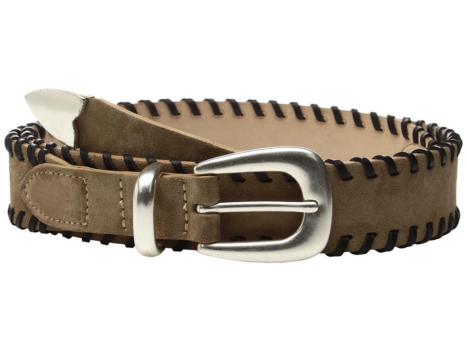 rag & bone - McKenzie Belt (Camel Suede) Women's Belts
